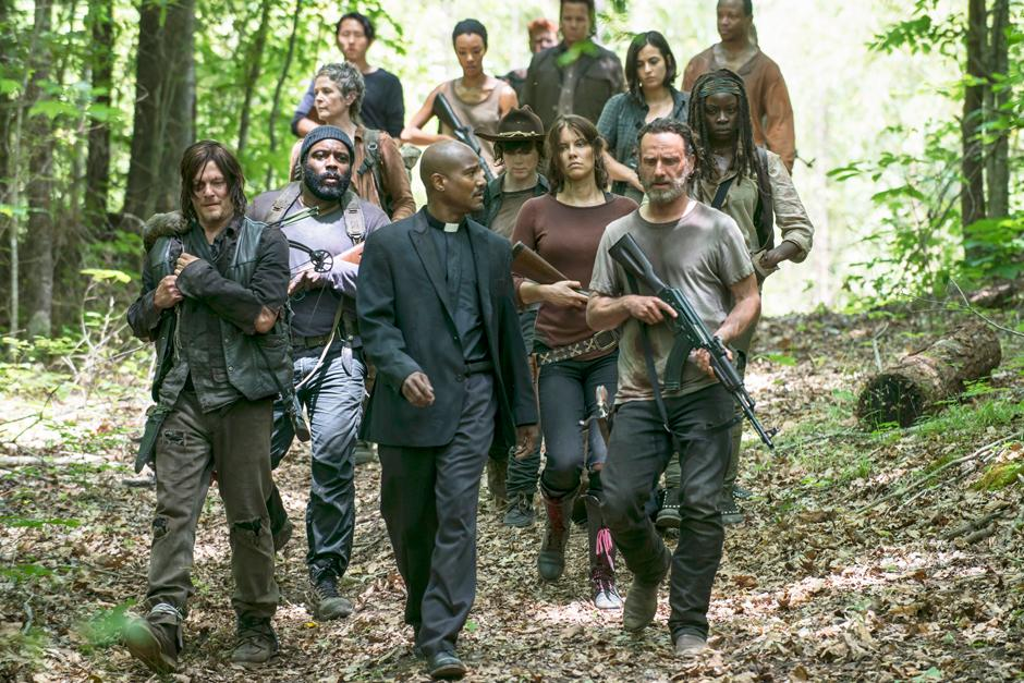 Los personajes de la serie The Walking Dead. (Foto: Google)