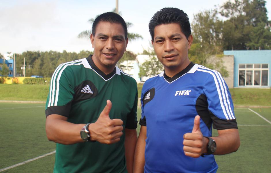 Walter López (izquierda) será el central de la final de ida del Torneo Apertura, mientras Gerson López (derecha) será su asistente 1