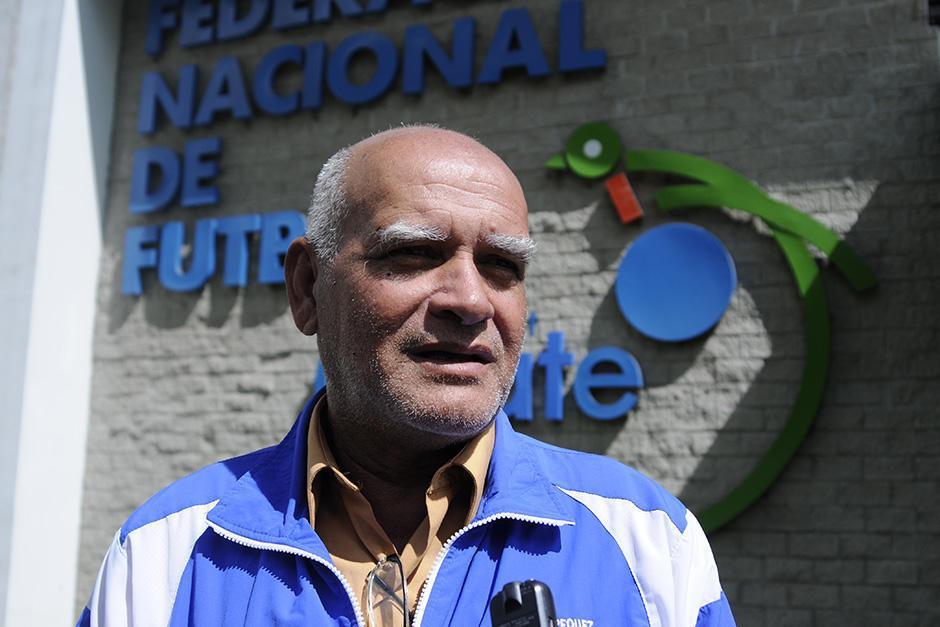 Walter Claverí ya no es el seleccionador nacional de Guatemala. (Foto: Soy502)