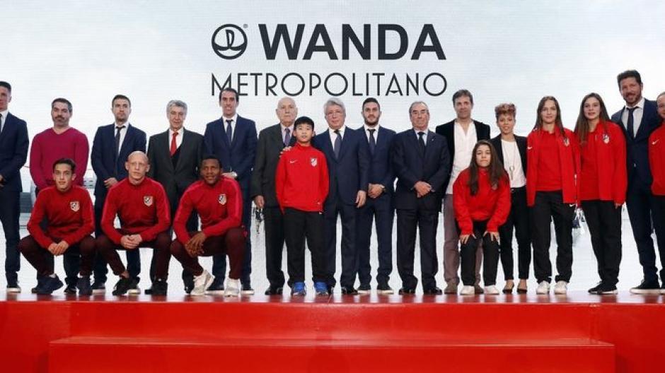 Varias figuras del club participaron en la presentación. (Foto: Atlético de Madrid)