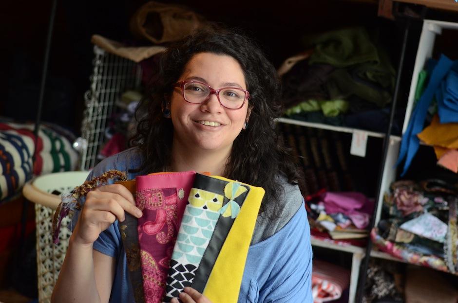 Ella es Renate Krings, la creadora detrás de la marca. (Foto: Esteban Biba/Soy502)