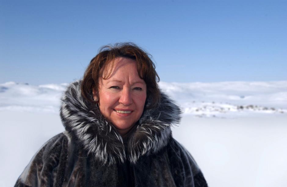 El jurado premió la lucha de Watt-Cloutier por proteger la vida indígena en el Ártico