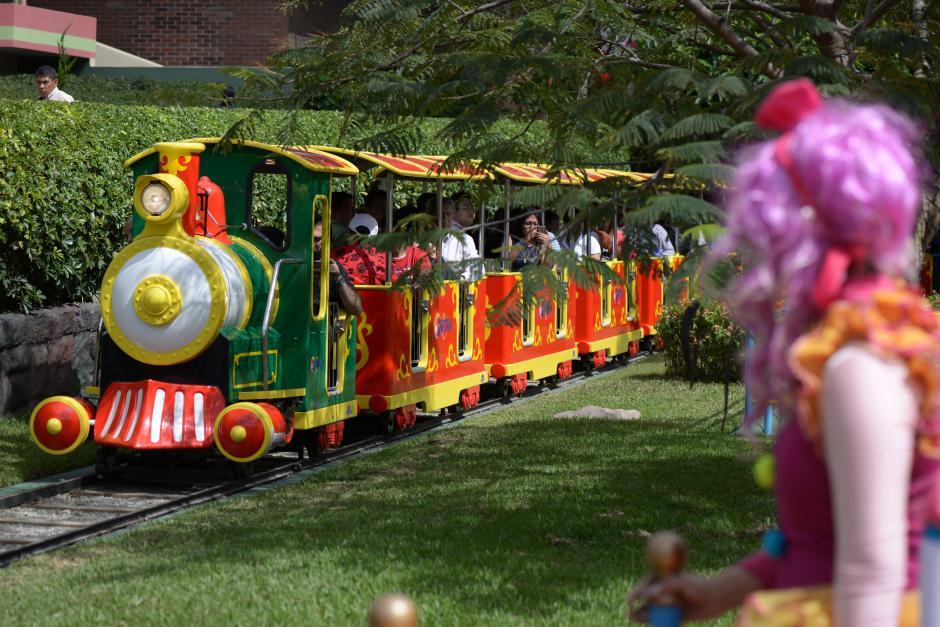 La atracción del Trencito fue adecuada para transportar a más ocupantes. (Foto: Wilder López/Soy502)