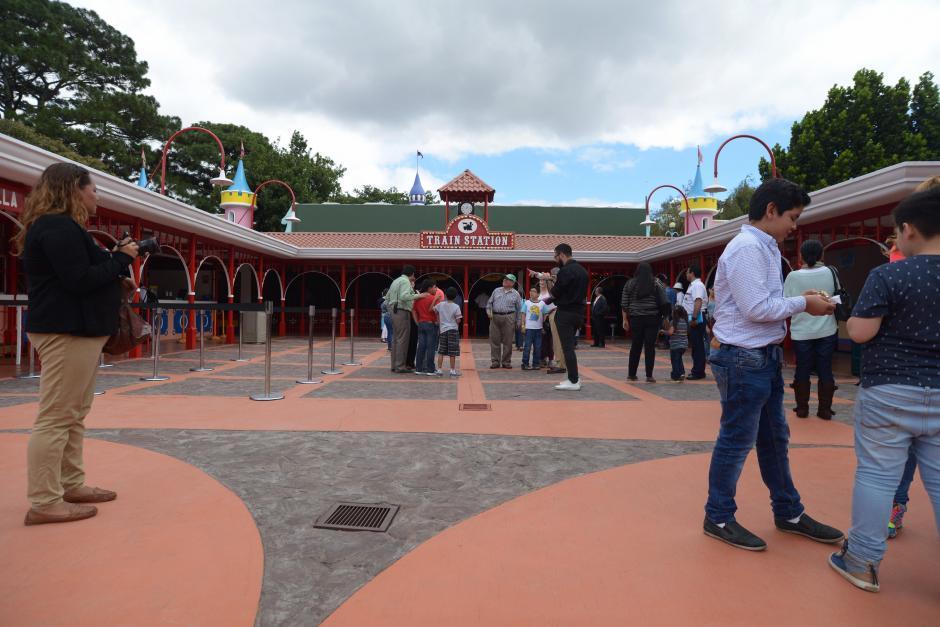 Así luce la estación donde pueden abordar el tren. (Foto: Wilder López/Soy502)