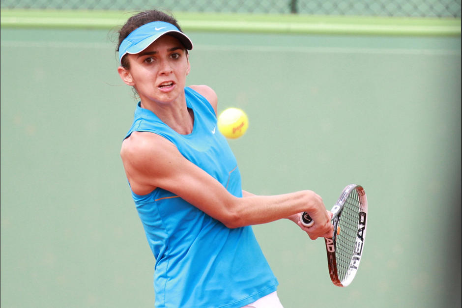 Andrea Weedon, Guatemala. Copa Federaciones, tenis