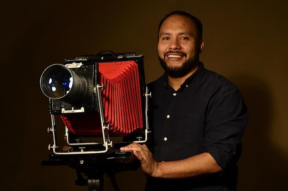 Conoce al artista guatemalteco Jorge Luis Chavarría. (Foto: Selene Mejía/Soy502)