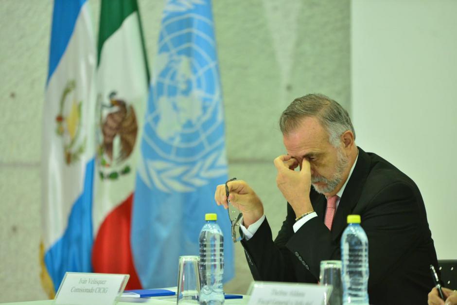 """Velásquez ha calificado los resultados de """"dramáticos"""". (Foto: Jesús Alfonso/Soy502)"""