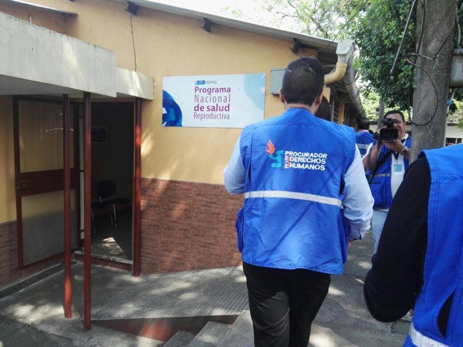 La Procuraduría de los Derechos Humanos realizó una verificación de la Dirección de Programas del Ministerio de Salud. Foto: PDH)