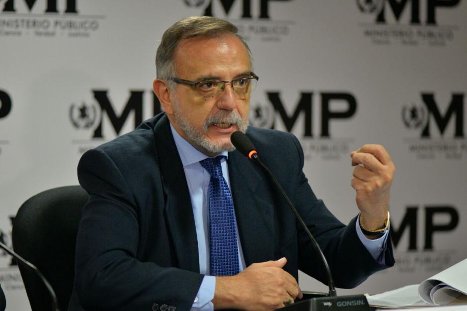 El comisionado señaló que es indignante la forma en la que robaron dinero. (Foto: Wilder López/Soy502)