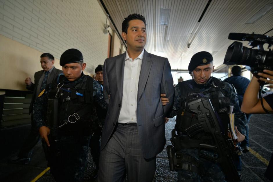 Estaba en su residencia cuando recibió la orden de aprehensión. (Foto: Wilder López/Soy502)