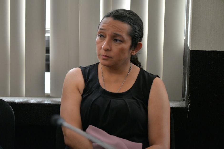 Claudia Bolaños, era quien realizaba los depósitos en la cuenta de la empresa de Muadi. (Foto: Wilder López/Soy502)