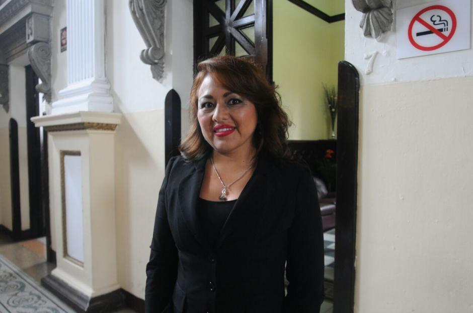 A diferencia de Bautista, la diputada Samayoa entra por primera vez al Congreso. (Foto: Alejandro Balán/Soy502)