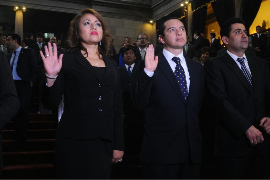 El Congreso juramentó este jueves a dos nuevos diputados. (Foto: Alejandro Balán/Soy502)
