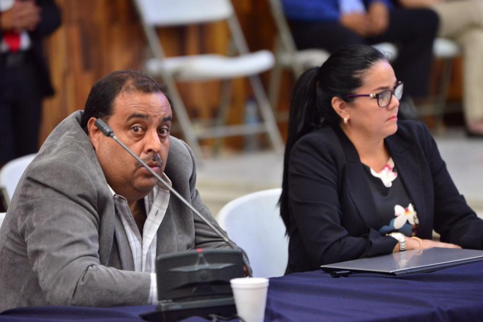 Rudy Navas, quien se entregó este martes, pide al juez revoque su orden de captura. (Foto: Jesús Alfonso/Soy502)