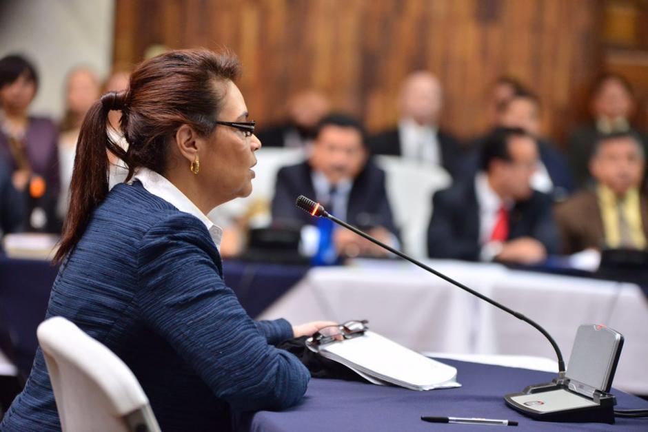 Baldetti aseguró que los fiscales mienten y que ella coordinó la reunión entre la  Fiscal y Monzón. (Foto: Jesús Alfonso/Soy502)