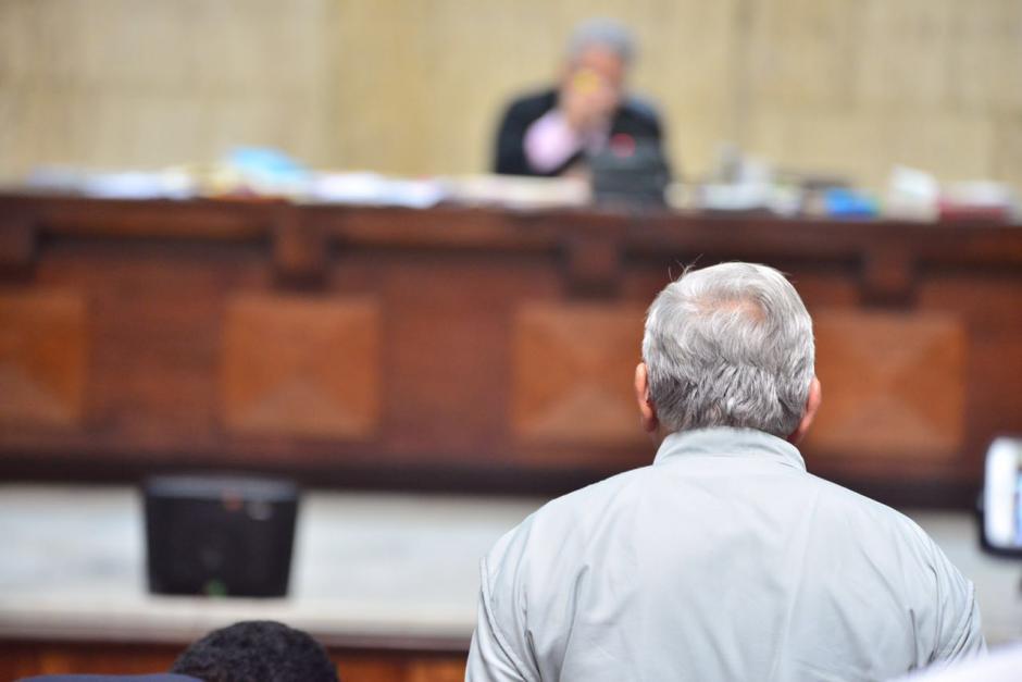 Edín Barrientos declaró durante 30 minutos ante el juez, pero se negó a aceptar preguntas de la fiscalía. (Foto: Jesús Alfonso/Soy502)