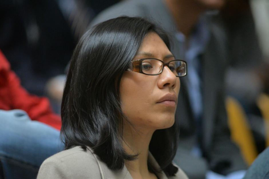 La abogada Elena Barrientos también trabaja en el Ministerio de Relaciones Exteriores como asesora, según su perfil de Linkedin. (Foto: Wilder López/Soy502)