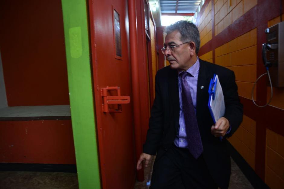 El Juez Miguel Ángel Gálvez resolvió suspender el traslado hacia Matamoros de 18 acusados que se encuentran en Mariscal Zavala. (Foto: Jesús Alfonso/Soy502)