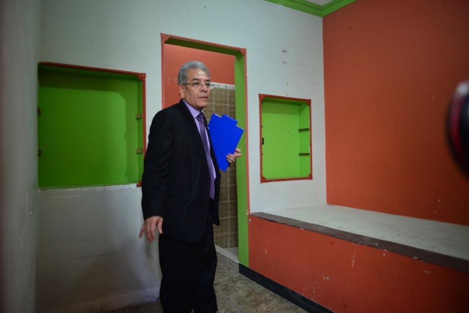 Gálvez señaló que la prisión se encuentra en condiciones para recibir a los acusados. (Foto: Jesús Alfonso/Soy502)