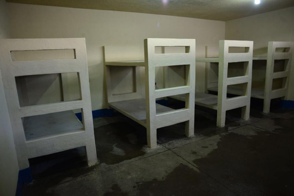 Hay celdas para hasta ocho reclusos.(Foto: Jesús Alfonso/Soy502)