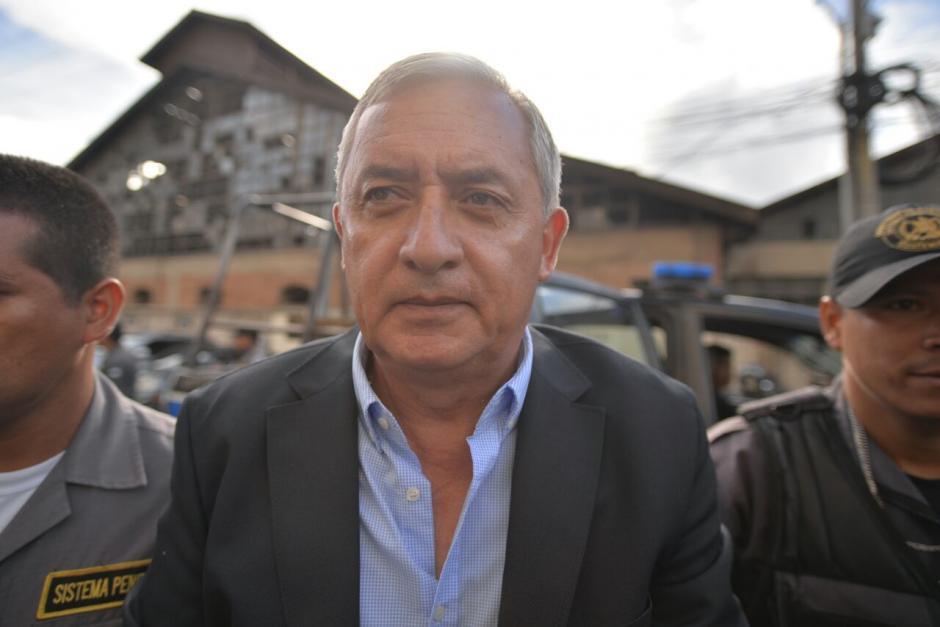 Además de La Línea y TCQ al expresidente le sindicaron en el de Cooptación del Estado. (Foto: Wilder López/Soy502)
