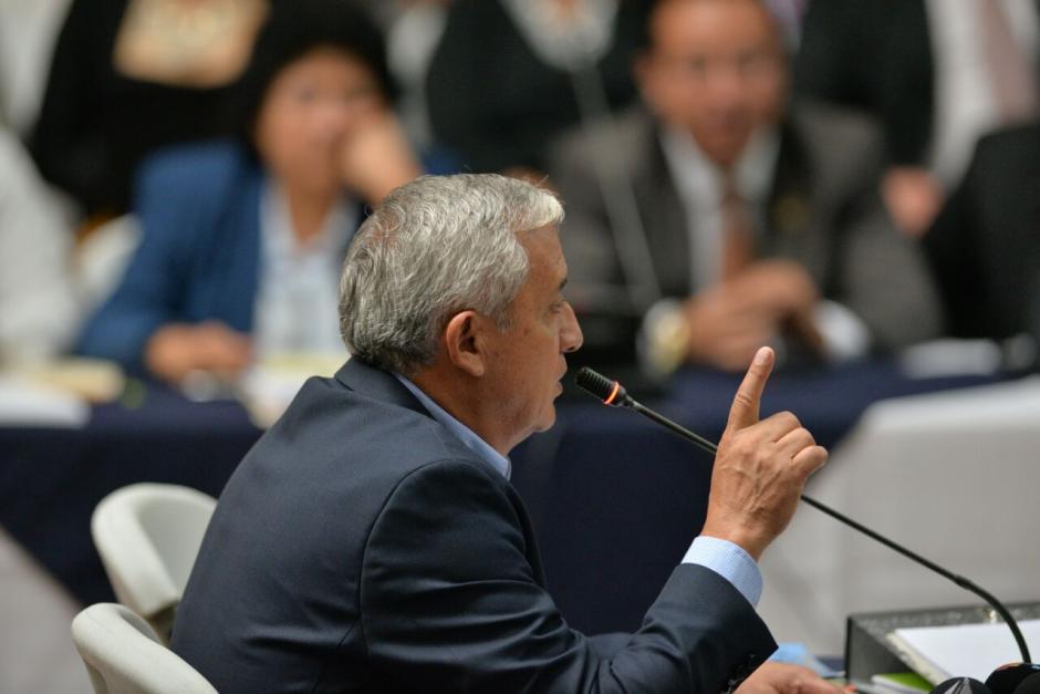 En sus palabras criticó a Monzón y a Iván Velásquez. (Foto: Wilder López/Soy502)