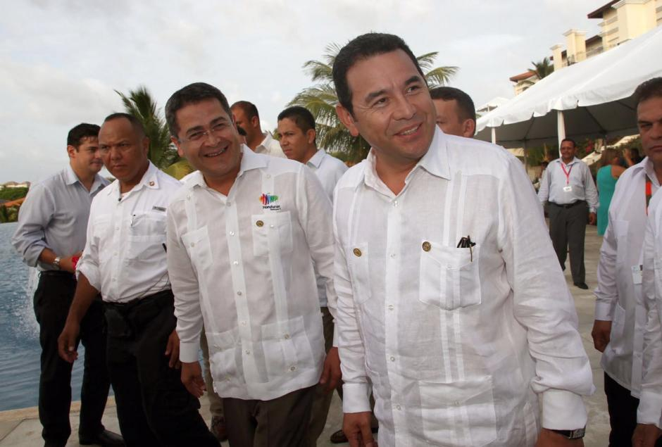 Los jefes de Estado tendrán mañana la reunión de alto nivel. (Foto: Presidencia)