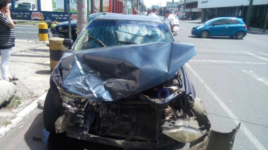 Pese a la gravedad de las imágenes los dos conductores salieron ilesos. (Foto: Amílcar Montejo)