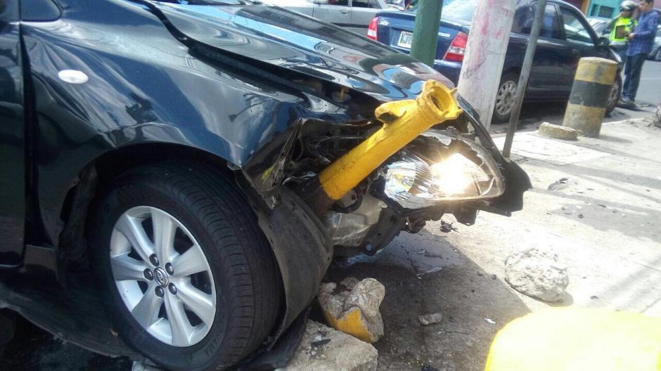 Ambos implicados acordaron el pago de daños con las aseguradoras. (Foto: Amílcar Montejo)