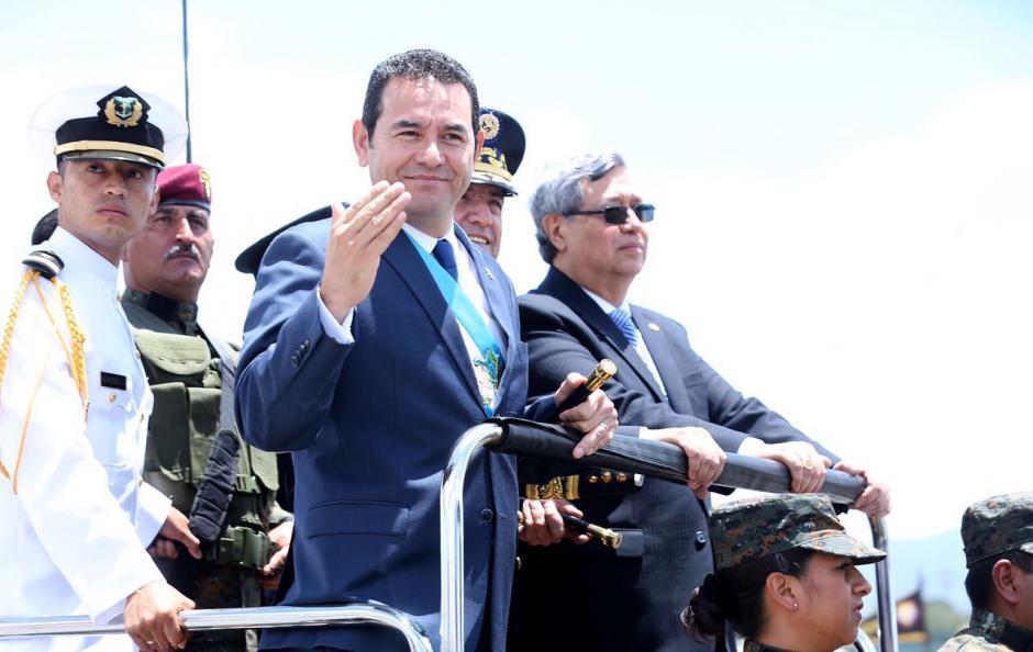 """Ensalzó la institución y la calificó de """"ejemplo"""". (Foto: Gobierno)"""