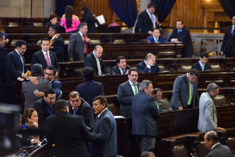 Pese a que se aprobó en tercer debate, los diputados dejaron a medias la discusión en redacción final. (Foto: Jesús Alfonso/Soy502)