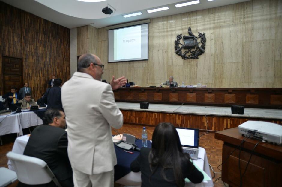 Galindo señaló al juez Gálvez que sobre él pesaba la familia de 57 implicados. (Foto: Wilder López/Soy502)