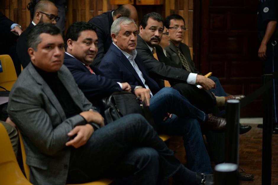 El abogado de Otto Pérez aún no ha hablado ante el juez Gálvez. (Foto: Wilder López/Soy502)