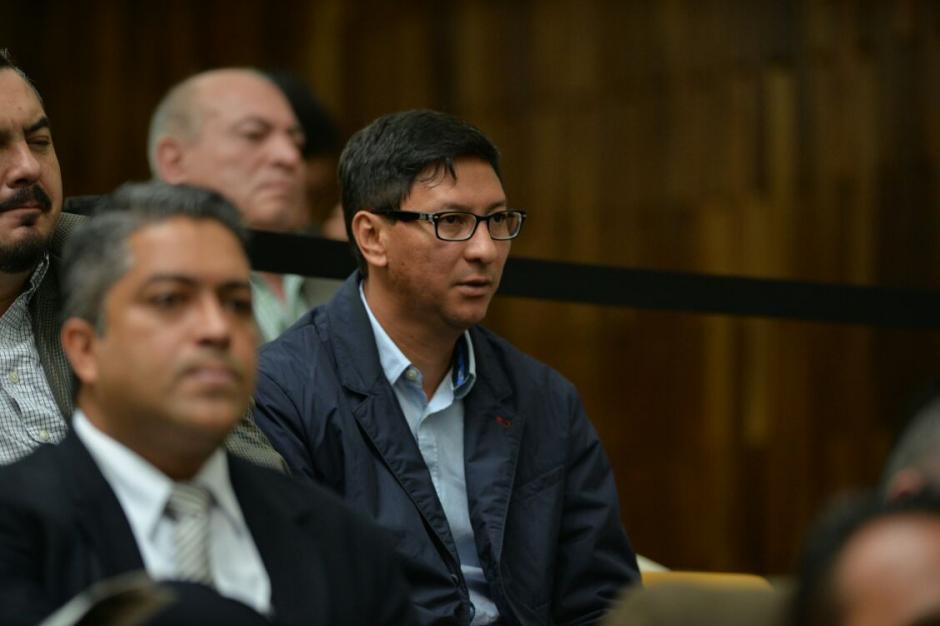 Walter López, acusado de cohecho, es el cliente de Galindo. (Foto: Wilder López/Soy502)