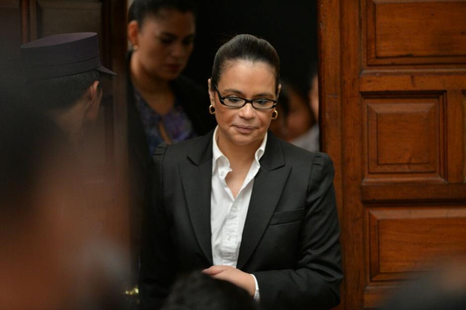 Roxana Baldetti permanece en prisión sindicada de corrupción. (Foto: Wilder López/Soy502)