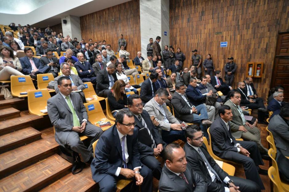 Gálvez decidirá si envía a proceso o no a los 57 implicados en el caso de Cooptación del Estado. (Foto: Wilder López/Soy502)