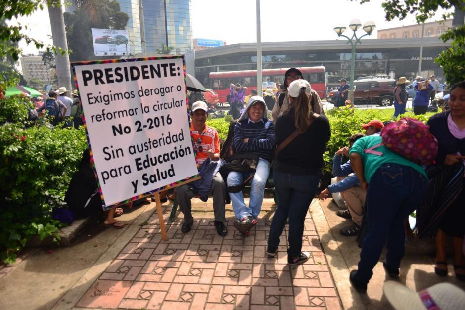 El sindicato negó cualquier vínculo con el expresidente Otto Pérez Molina y la exvicepresidenta Roxana Baldetti. (Foto: Jesús Alfonso/Soy502)