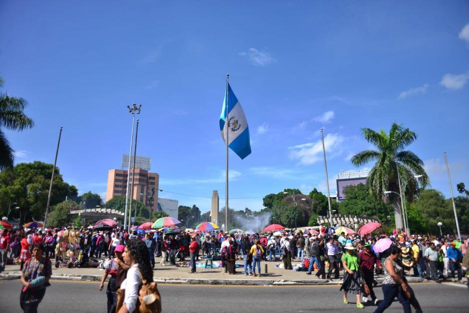 La manifestación del Sindicato de Trabajadores de Educación de este jueves reunió a miles de profesores. (Foto: Jesús Alfonso/Soy502)