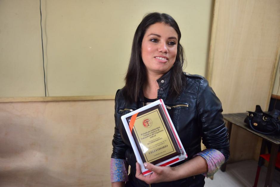 Celia Osorio es oriunda de Sayaxché, Petén. (Foto: Jesús Alfonso/Soy502)