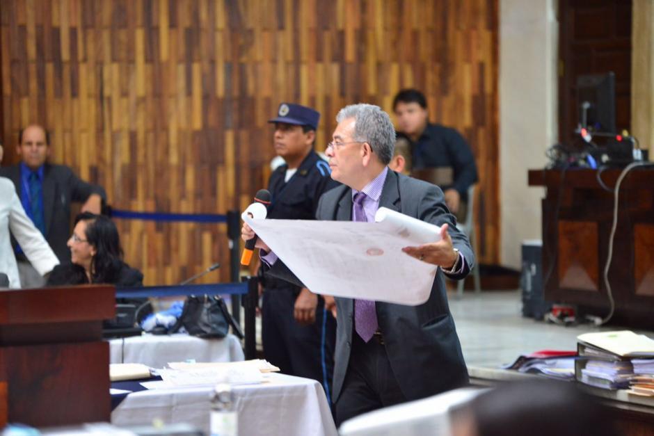 Se analizaron muchas pruebas presentadas por el MP. (Foto: Jesús Alfonso/Soy502)