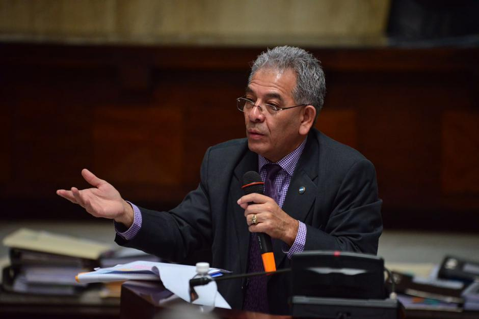 En su vigésimo cuarto día el Juez Miguel Ángel Gálvez continuó con su argumentación. (Foto: Jesús Alfonso/Soy502)