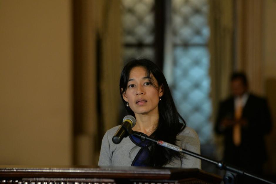 Durante la presentación de su plan de trabajo, el pasado primero de agosto, la ministra dijo que la lucha contra la corrupción sería uno de los ejes de su plan de trabajo. (Foto: Archivo/Soy502)