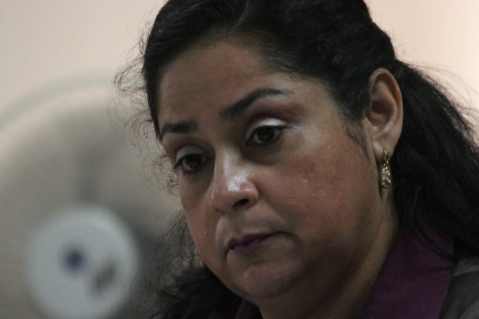 El juicio contra la jueza Jisela Reinoso continuó este martes. (Foto: Alejandro Balám /Soy502)