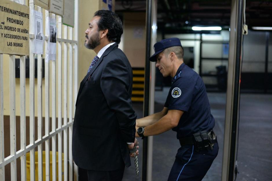 Rivera es acusado de tráfico de influencias y se encuentra bajo arresto desde marzo pasado. (Foto: Wilder López/Soy502)