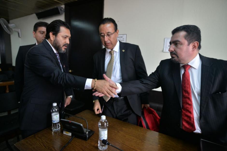 Rivera y el abogado del PP, Vernón González enfrentan juicio por tráfico de influencias. (Foto: Wilder López/Soy502)