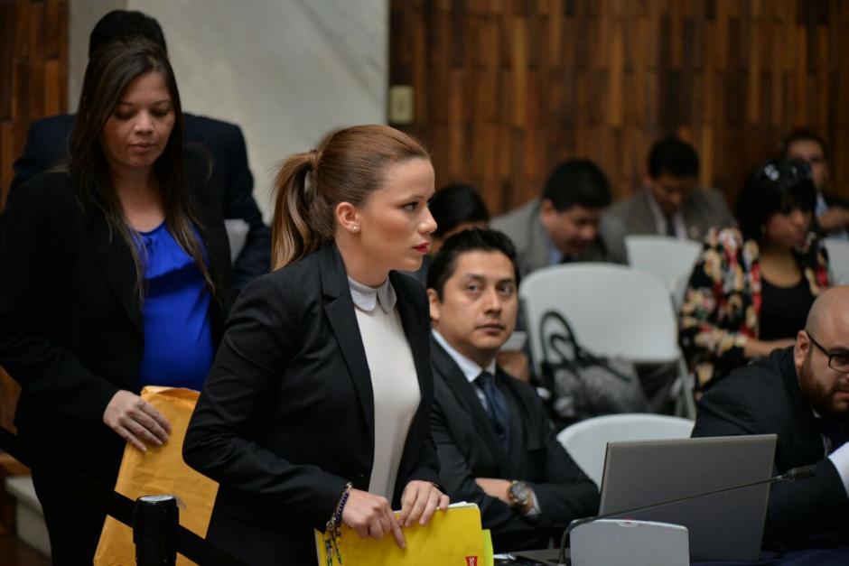 La exdiputada señaló que admira al Juez Gálvez. (Foto: Wilder López/Soy502)