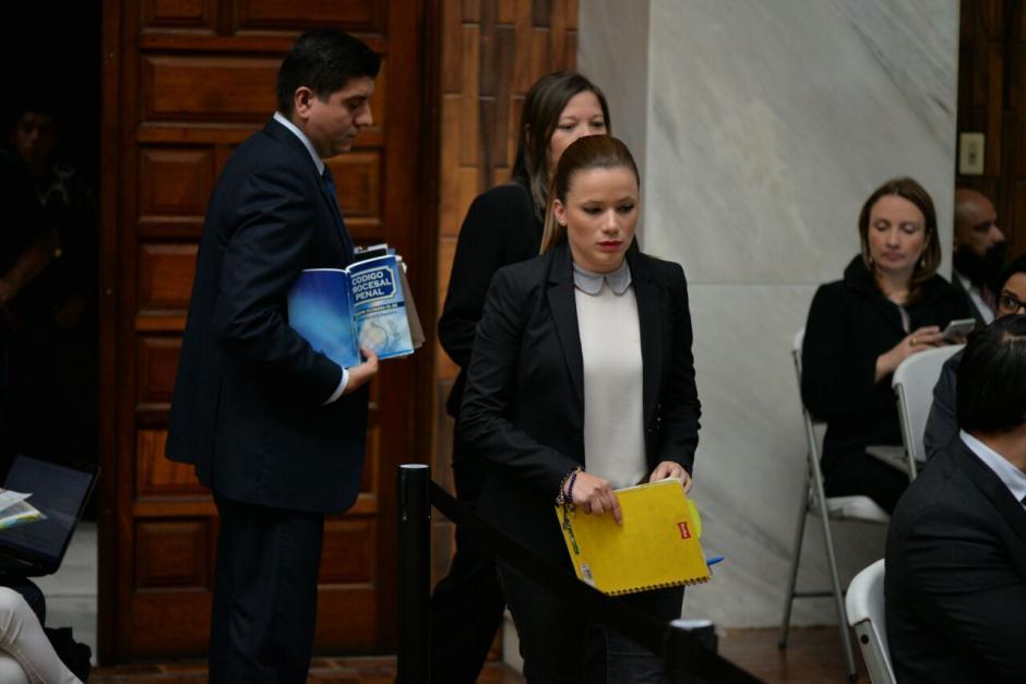 Beltranena fue asistente de Roxana Baldetti. (Foto: Wilder López/Soy502)