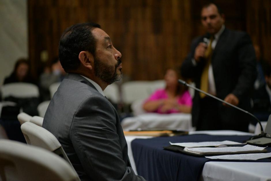 Pidió declarar ante el juez para solicitar no ir a prisión. (Foto: Wilder López/Soy502)