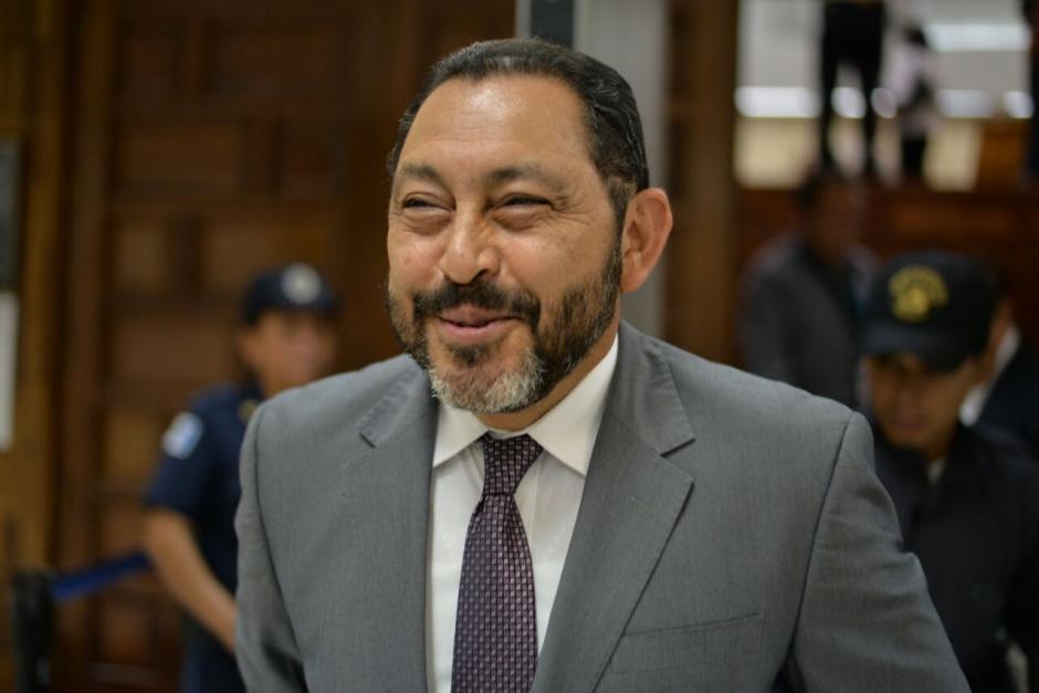 López Bonilla ha permanecido sonriente durante los dos meses que ya lleva en prisión. (Foto: Wilder López/Soy502)