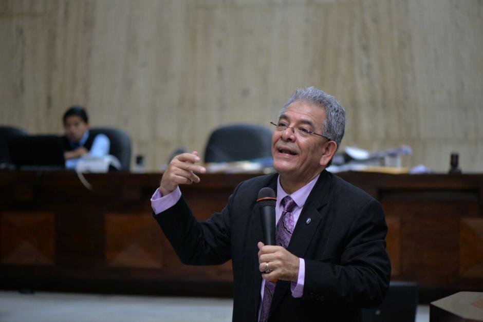 El Juez Miguel Ángel Gálvez denunció un intento por desprestigiarlo. (Foto: Wilder López/Soy502)